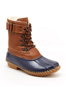JBU Navy Rain Boots Winter Boots
