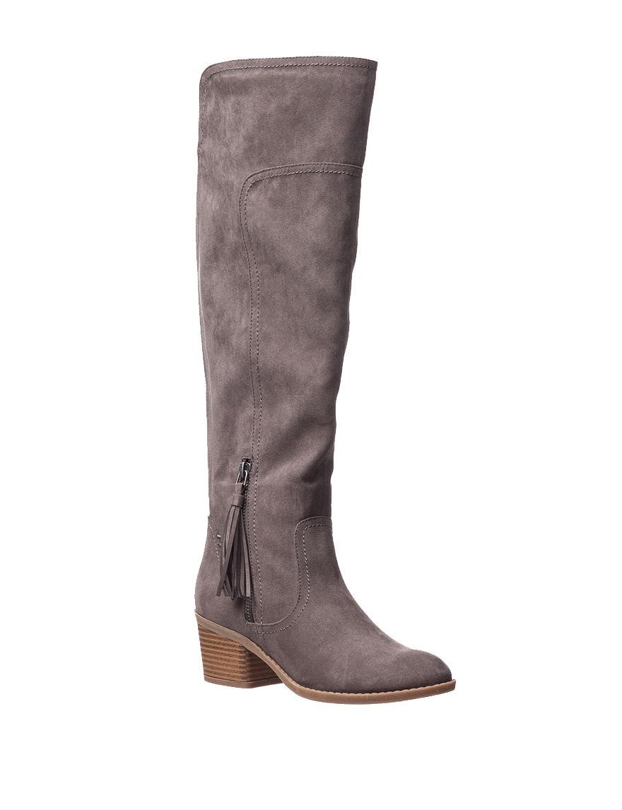 Indigo Rd. Grey Riding Boots