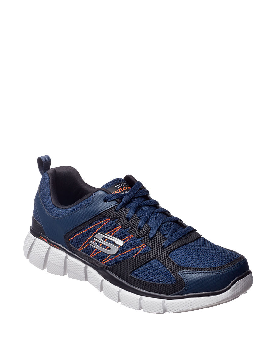Skechers Orange/ Navy