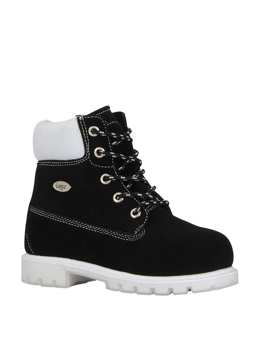 Lugz Black /  White