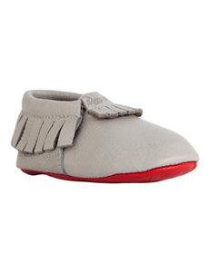 Itzy Ritzy Pebble Grey Crib Shoes – Baby 0-18 Mos.