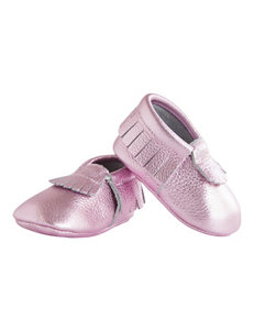Itzy Ritzy Pink Champagne Crib Shoes – Baby 0-18 Mos.