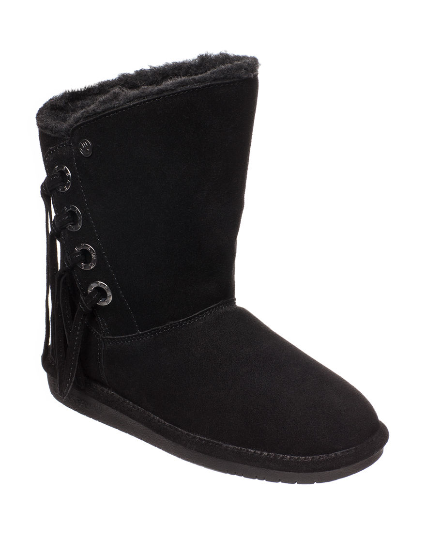 Bearpaw Black Ankle Boots & Booties