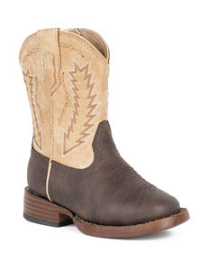 Roper Billy Western Boots –Toddler Boys 5-8