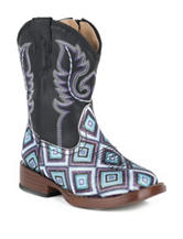 Roper Glitter Diamonds Western Boots –Toddler Girls 5-8