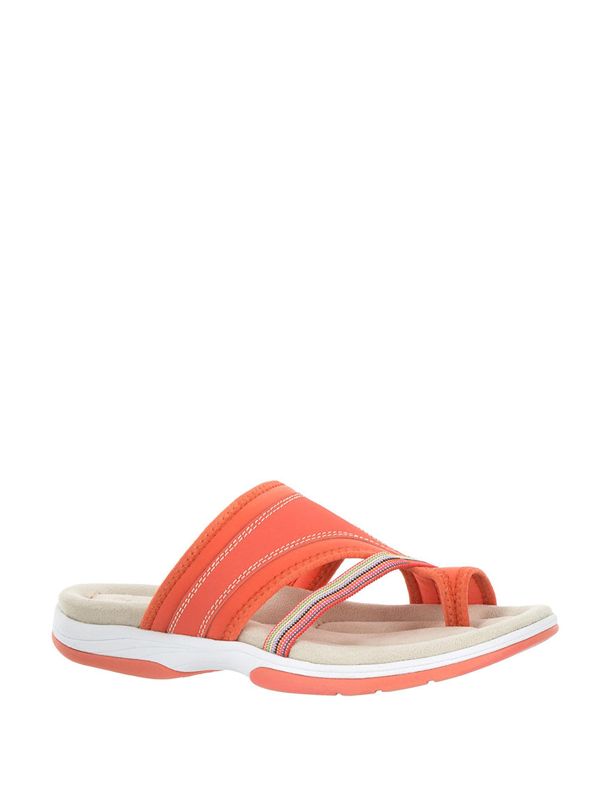 Easy Street Coral Flat Sandals
