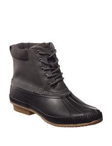 Tommy Hilfiger Grey Western & Cowboy Boots