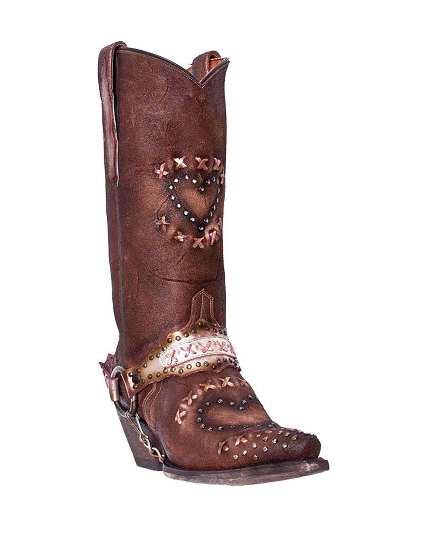 Dan Post Chocolate Western & Cowboy Boots