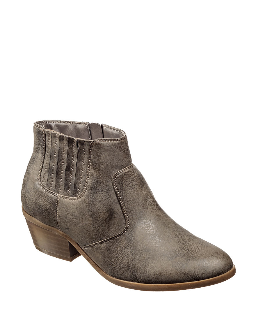 Wear. Ever. Taupe Ankle Boots & Booties