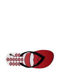Harajuku Lovers Lay One On Me Thong Sandals
