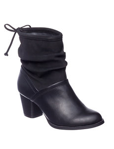 Rialto Black Ankle Boots & Booties