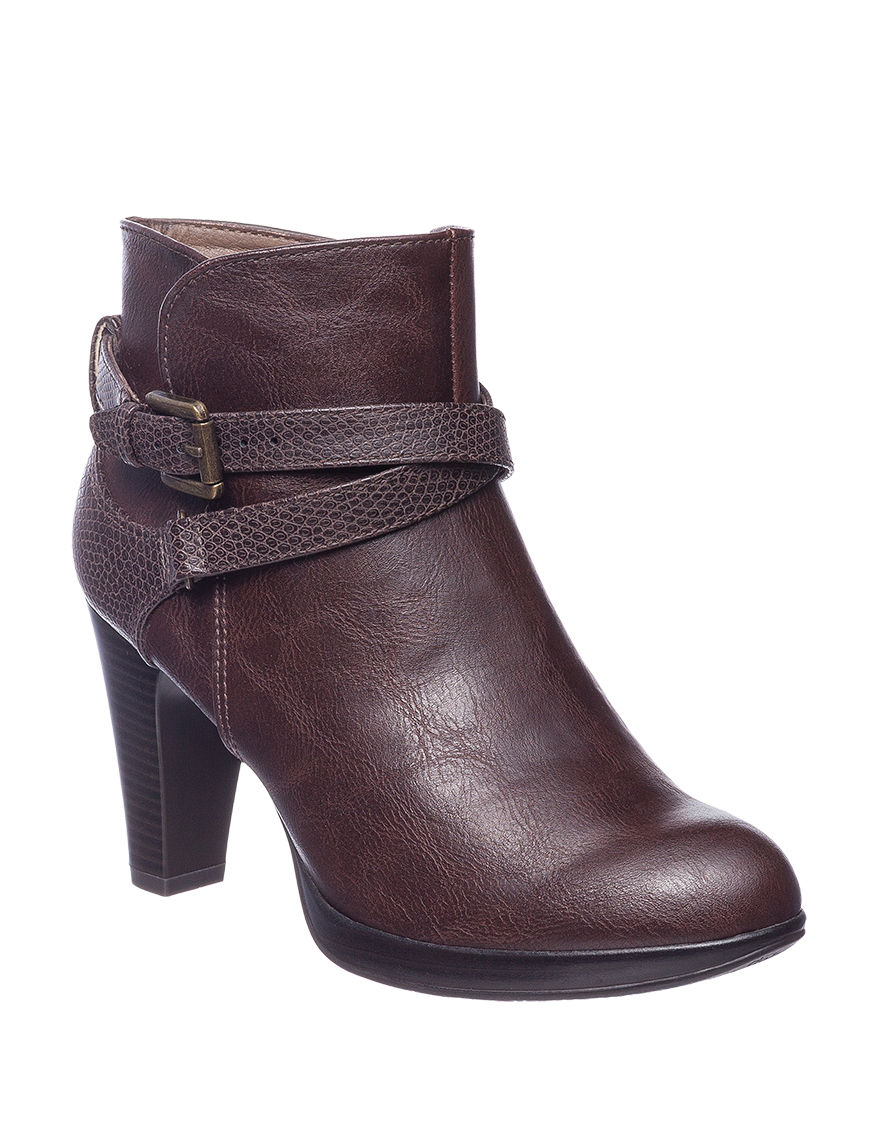 Rialto Brown Ankle Boots & Booties