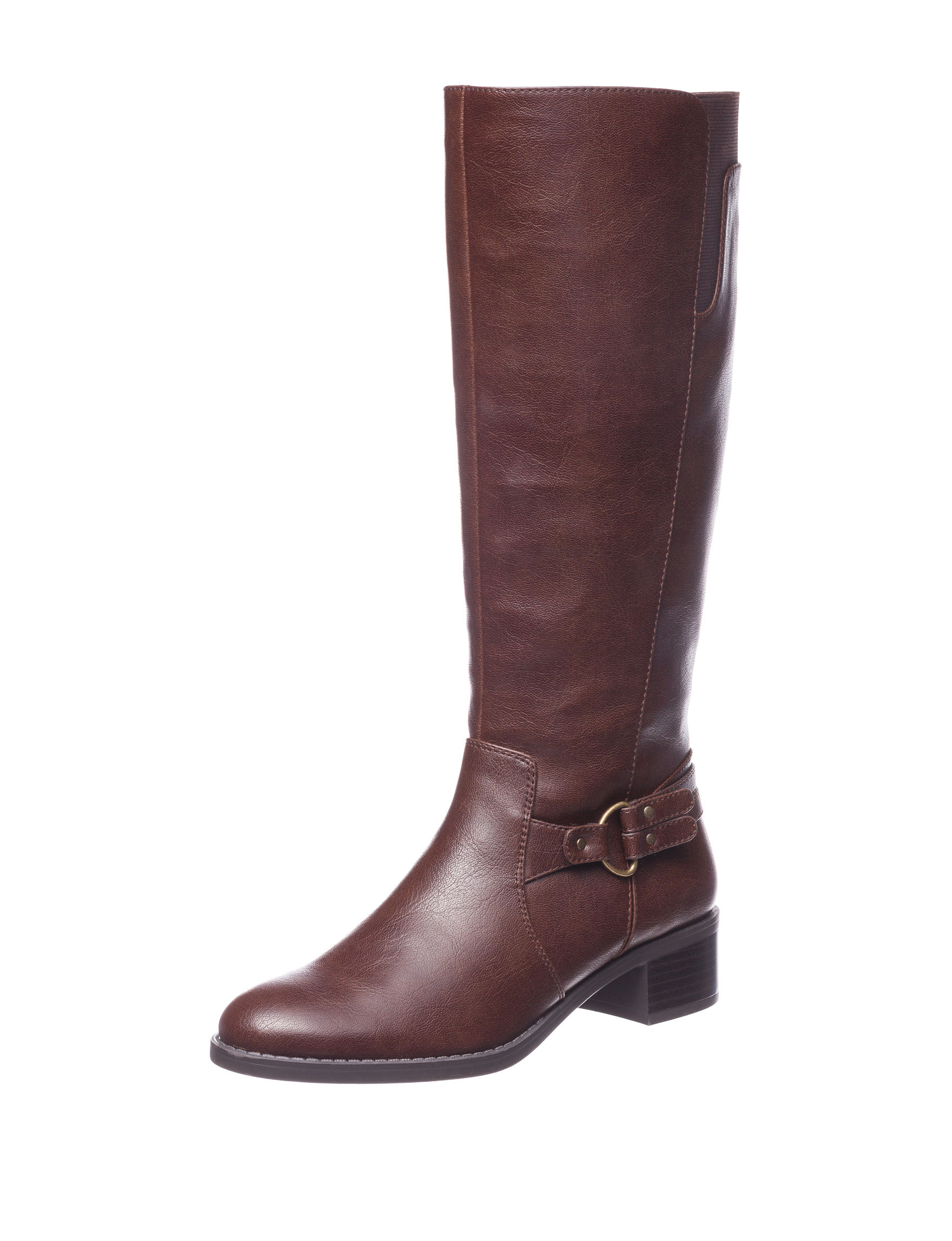 Easy Street Brown Riding Boots
