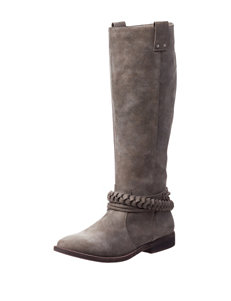 Rampage Taupe Riding Boots