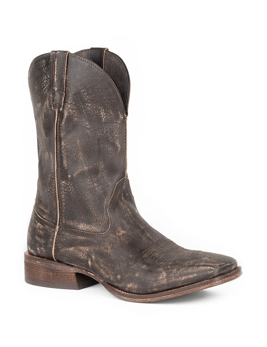 Roper Brown Western & Cowboy Boots
