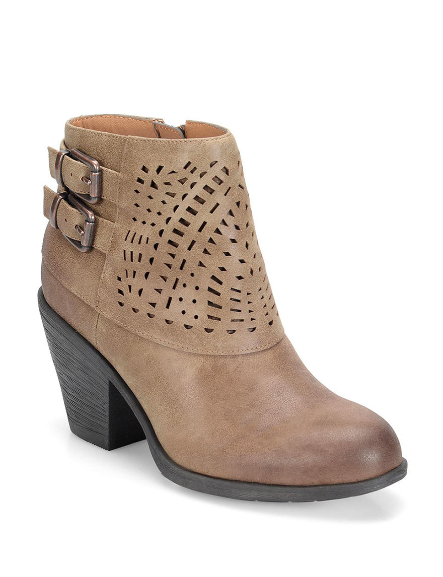 Eurosoft Tan Ankle Boots & Booties