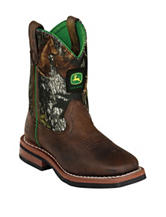 John Deere Growin' Like A Weed Camo Boots – Toddlers & Boys 11-3
