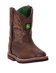 John Deere Everyday Rust Square Toe Boots – Toddler Boys 4-7