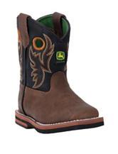 John Deere Everyday Buckaroo Square Toe Boots – Toddler Boys 4-7