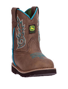 John Deere Everyday Round Toe Boots – Toddler Girls 4-7