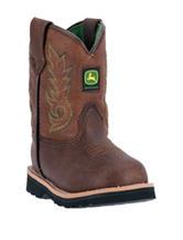John Deere Everyday Round Toe Boots – Toddler Boys 4-7