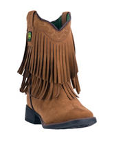 John Deere Everyday Rust Fringe Boots – Toddlers & Girls 11-3