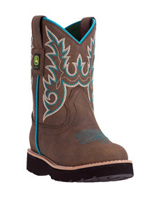 John Deere Everyday Turquoise Boots – Toddlers & Girls 11-3
