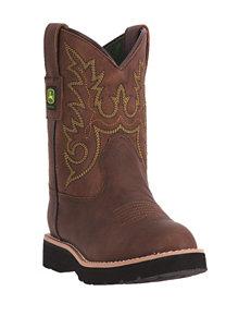 John Deere Everyday Chestnut Boots – Toddlers & Boys 11-3
