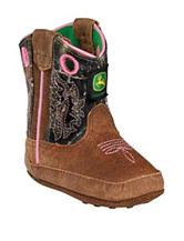 John Deere Johnny Popper Camo Crib Boots – Baby 0-4