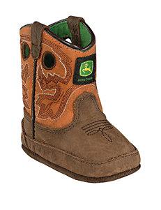 John Deere Johnny Popper Rust Crib Boots – Baby 0-4