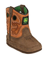 John Deere Johnny Popper Rust Crib Boots – Baby 0-4