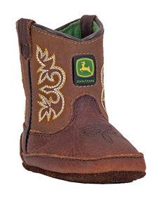 John Deere Johnny Popper Mesquite Crib Boots – Baby 0-4