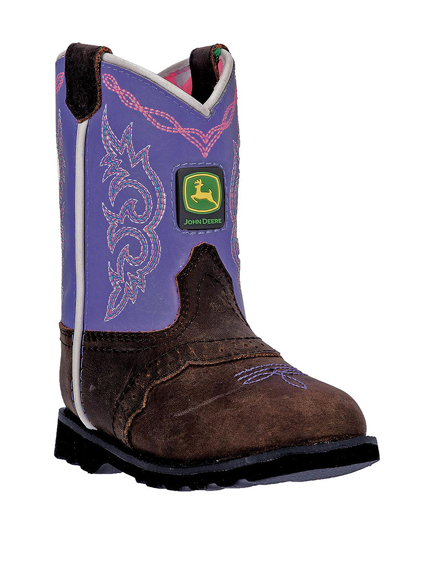 John Deere Brown / Purple