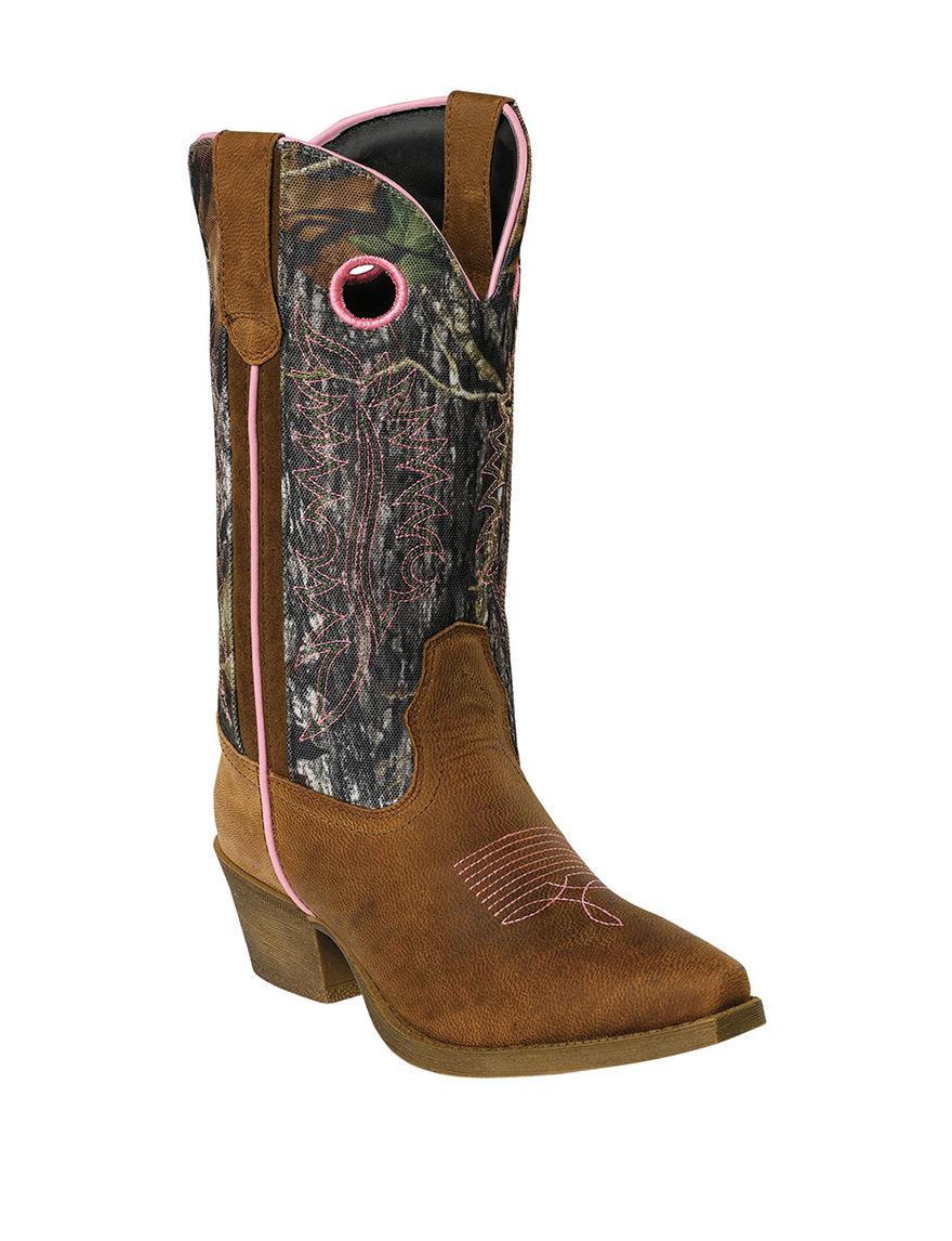 John Deere Pink Camo Western & Cowboy Boots