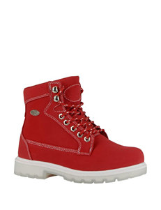 Lugz Red Ankle Boots & Booties