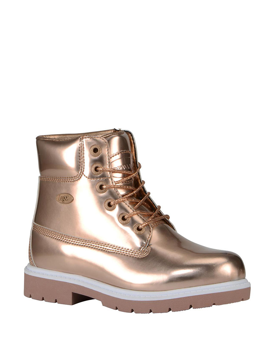 Lugz Gold Ankle Boots & Booties