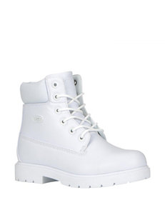 Lugz White Ankle Boots & Booties