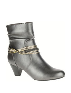 Soft Style Medium Grey Ankle Boots & Booties