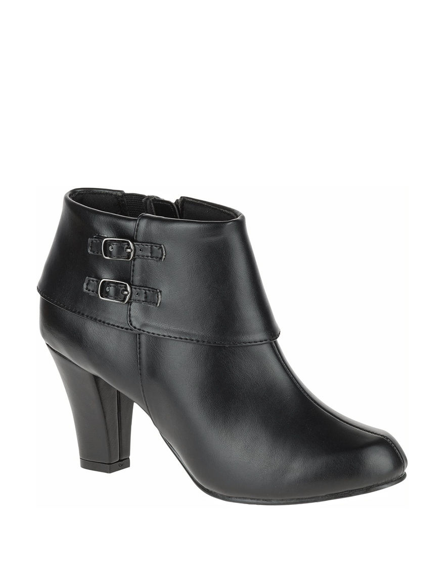 Soft Style Black Ankle Boots & Booties