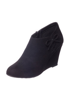 CL Black Ankle Boots & Booties Wedge Boots