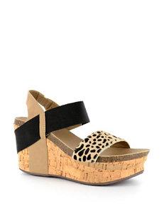 Corkys Wedge Platform Sandals
