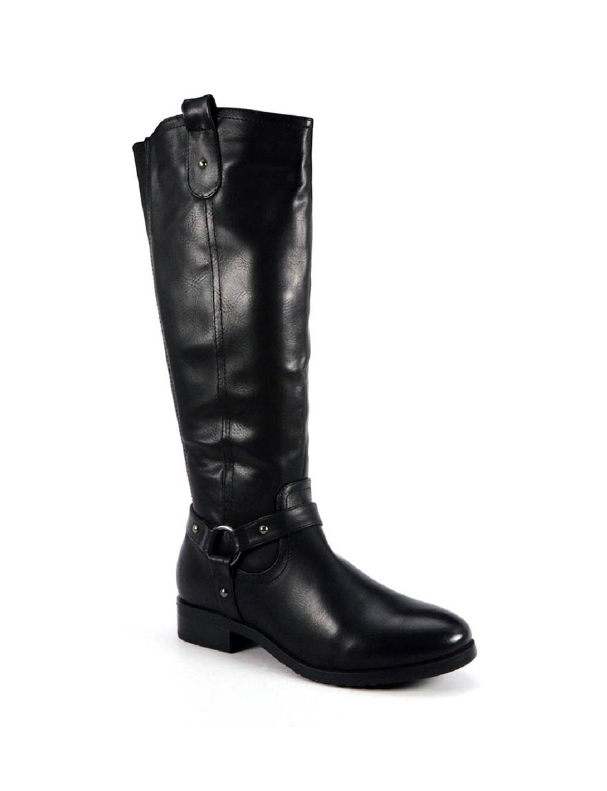 Corkys Black Riding Boots