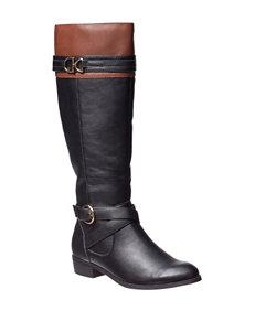 Valerie Stevens Black Riding Boots