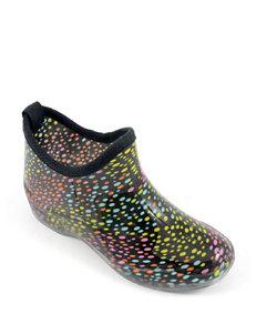 Corkys Polka Dot Rain Boots