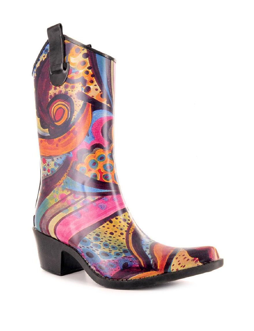 Multi Rain Boots