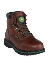 John Deere Waterproof Steel Toe Lace-Up Boots