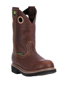 """John Deere 11"""" Waterproof Farm & Work Boots"""