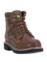 John Deere Waterproof Lace Up Farm & Work Boots