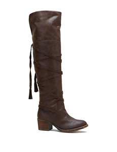 Sugar Brown Riding Boots