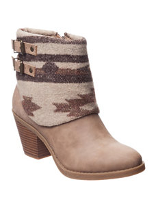 Sugar Demmie Heeled Booties